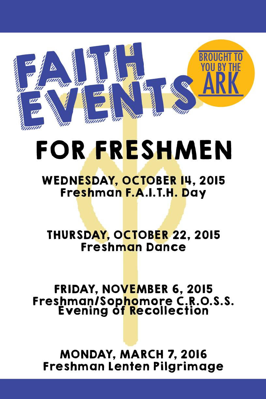 Senior Faith Events